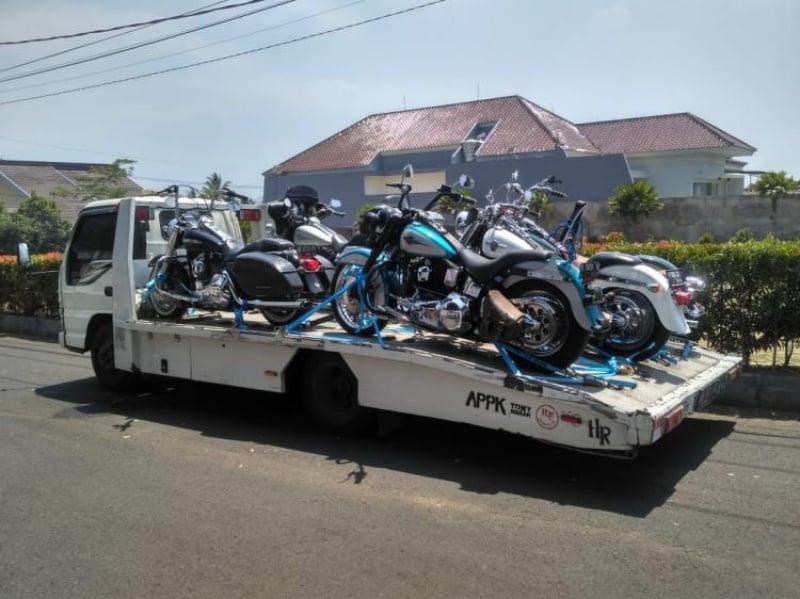 Kirim motor ke seluruh indonesia dari Tangerang Banten