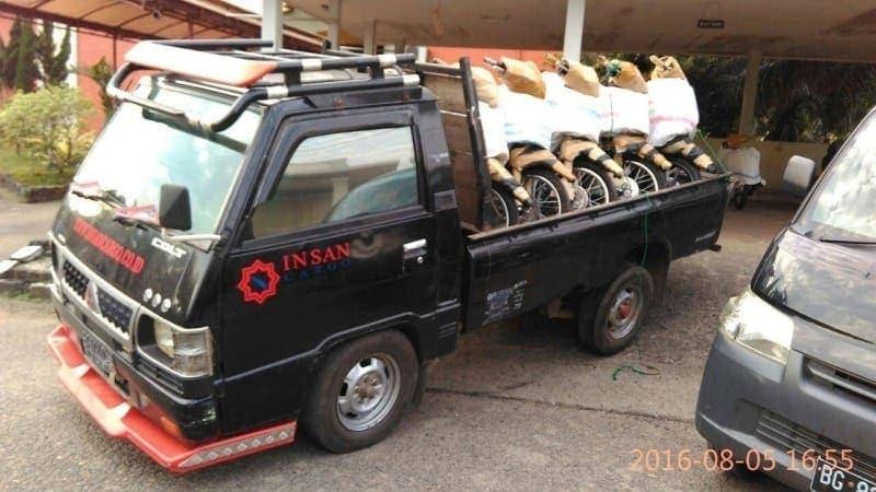 Kirim motor dari Tangerang ke seluruh Indonesia