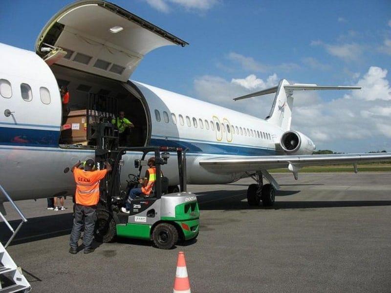 Kiriman paket via cargo udara dari Insan Cargo
