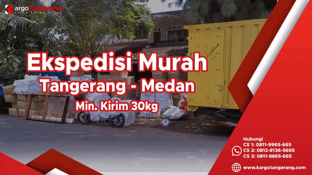 Jasa Ekspedisi Tangerang ke Medan Murah