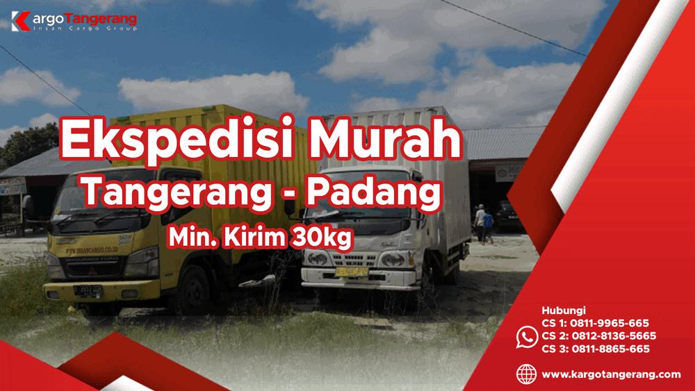 Jasa Ekspedisi Tangerang ke Padang Murah