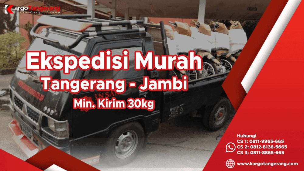Jasa Ekspedisi Tangerang Ke Jambi Murah 2700 Kg Dtd
