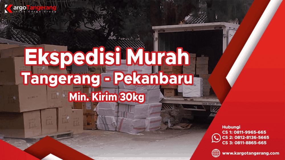 Jasa Ekspedisi Tangerang ke Pekanbaru Murah