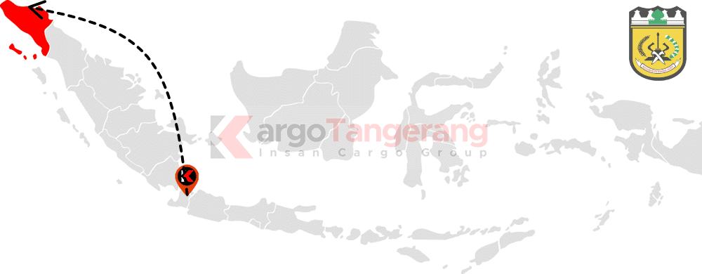 Peta pengiriman kargo Tangerang, Ekspedisi Tangerang ke Banda Aceh, Kami menerima pengiriman ekspedisi murah ke Banda Aceh, Aceh Besar, Aceh Jaya, Batupat, Bireun, Blang Pidie, Blangkejeren, Grong-Grong, Idi Riyeuk, Krueng Geukeh, Kuala Simpang, Kutacane, Langsa, Lhoksukon, Lhokseumawe, Matang Geulumpang, Meulaboh, Sabang, Sigli, Sinabang, Singkil, Subussalam, Takengon dan Tapak Tuan