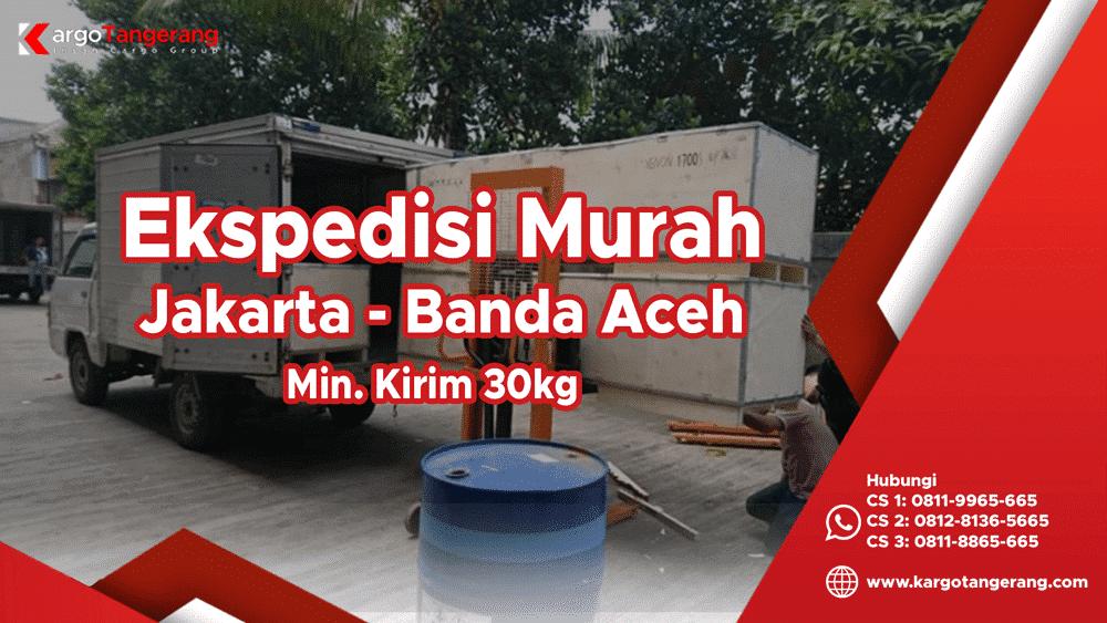 Jasa Ekspedisi Jakarta ke Banda Aceh murah, pengiriman barang jakarta banda aceh