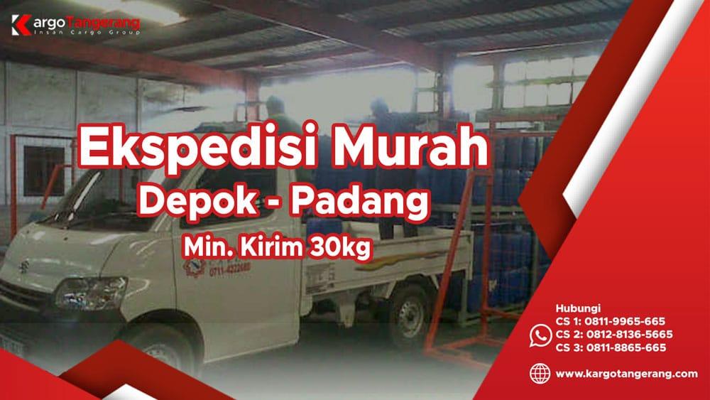 Jasa Ekspedisi Depok ke Padang murah