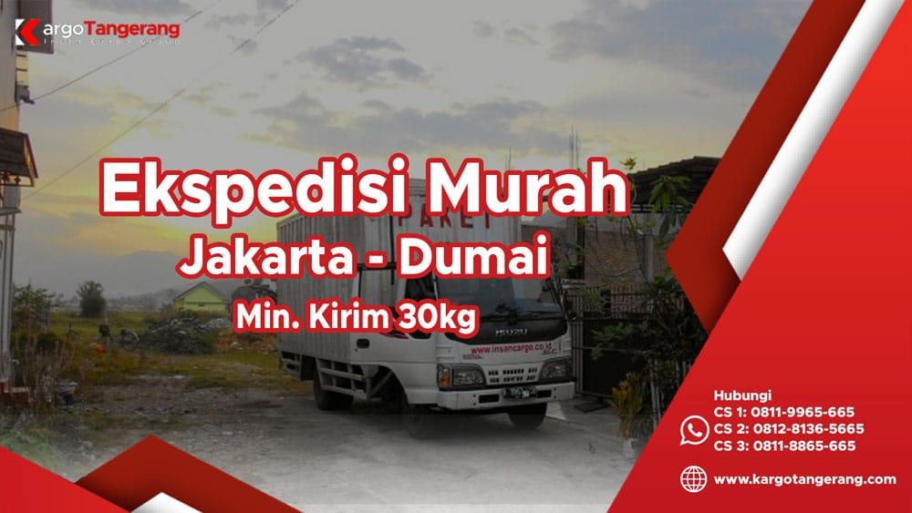 Jasa Ekspedisi Jakarta ke Dumai murah