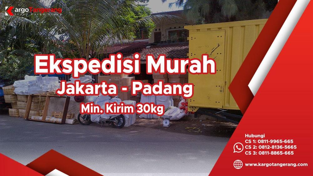 Jasa Ekspedisi Jakarta ke Padang murah