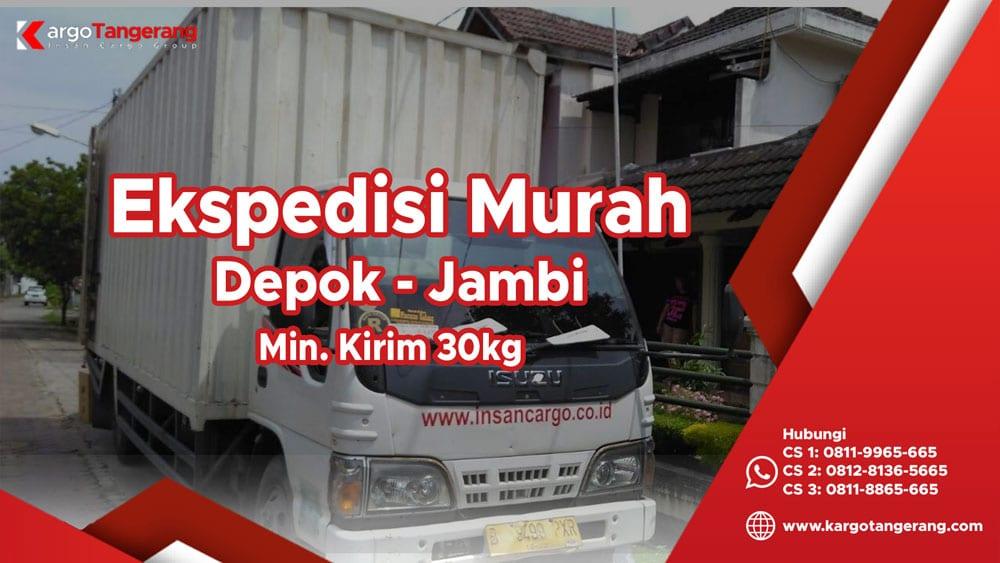 Jasa Ekspedisi Depok ke Jambi murah