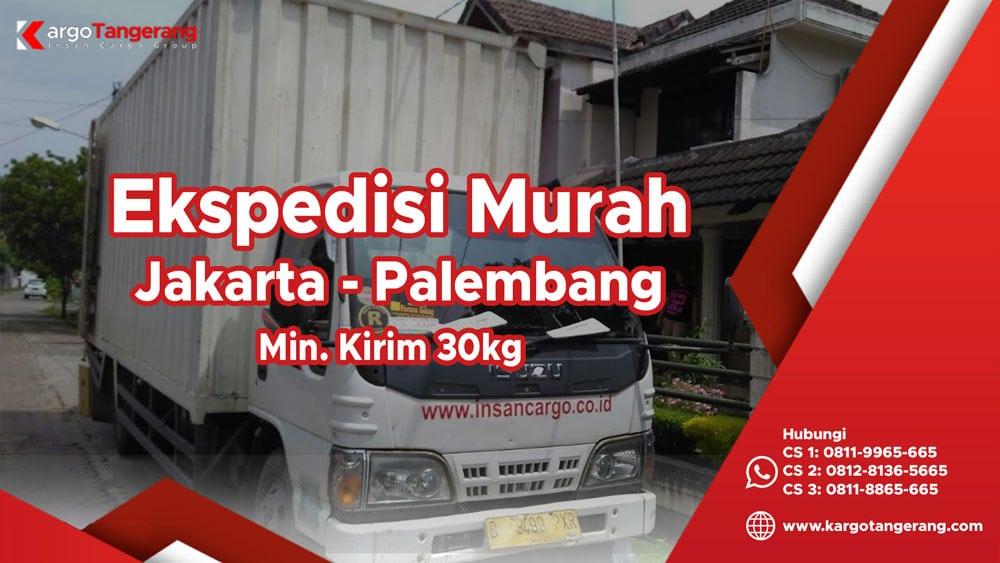 Jasa Ekspedisi Jakarta ke Palembang murah