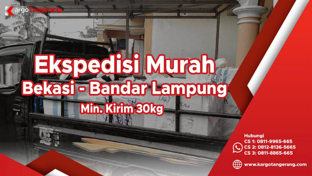 Jasa Ekspedisi Bekasi ke Lampung murah