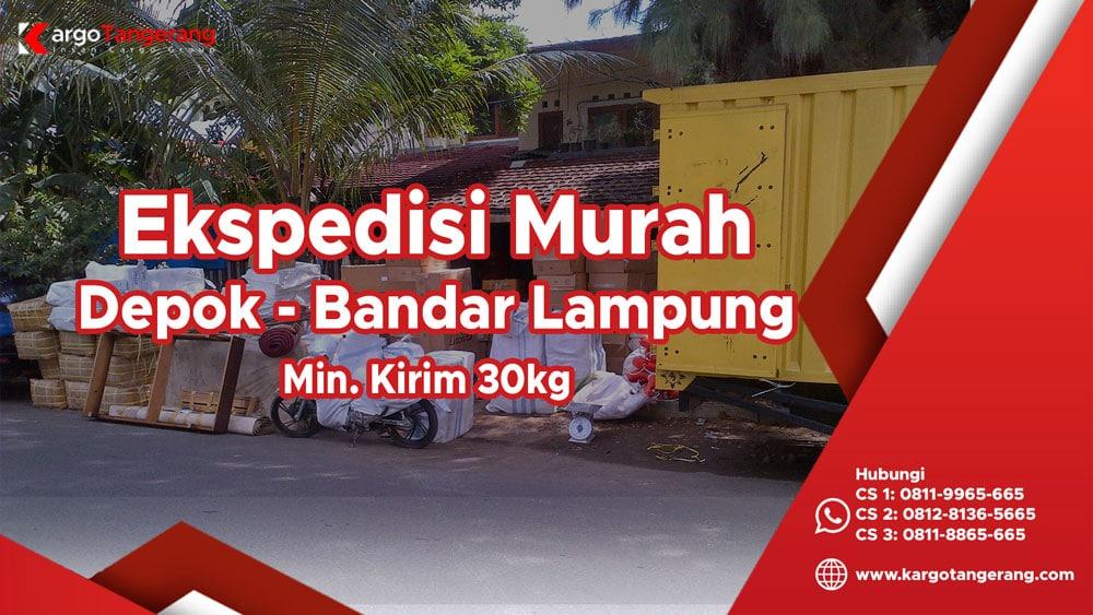 Jasa Ekspedisi depok ke Lampung murah