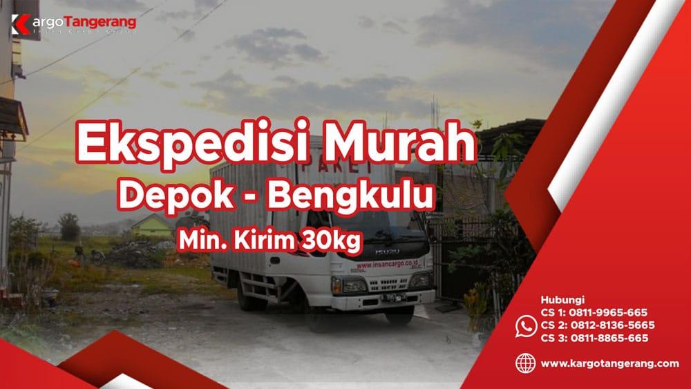 Jasa Ekspedisi Depok ke Bengkulu murah