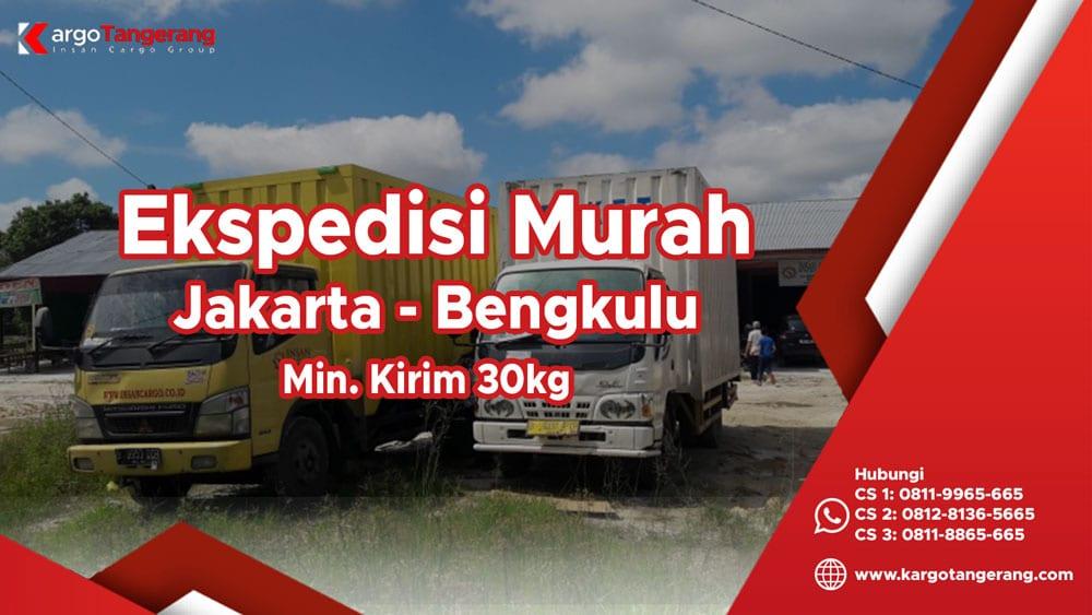 Jasa Ekspedisi Jakarta ke Bengkulu murah