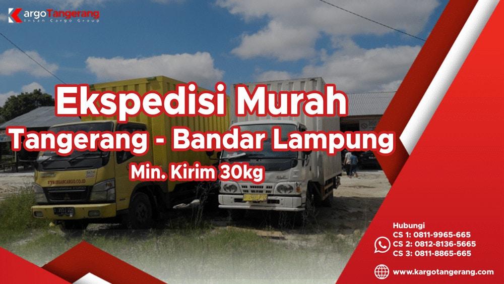 Jasa Ekspedisi Tangerang ke Lampung murah