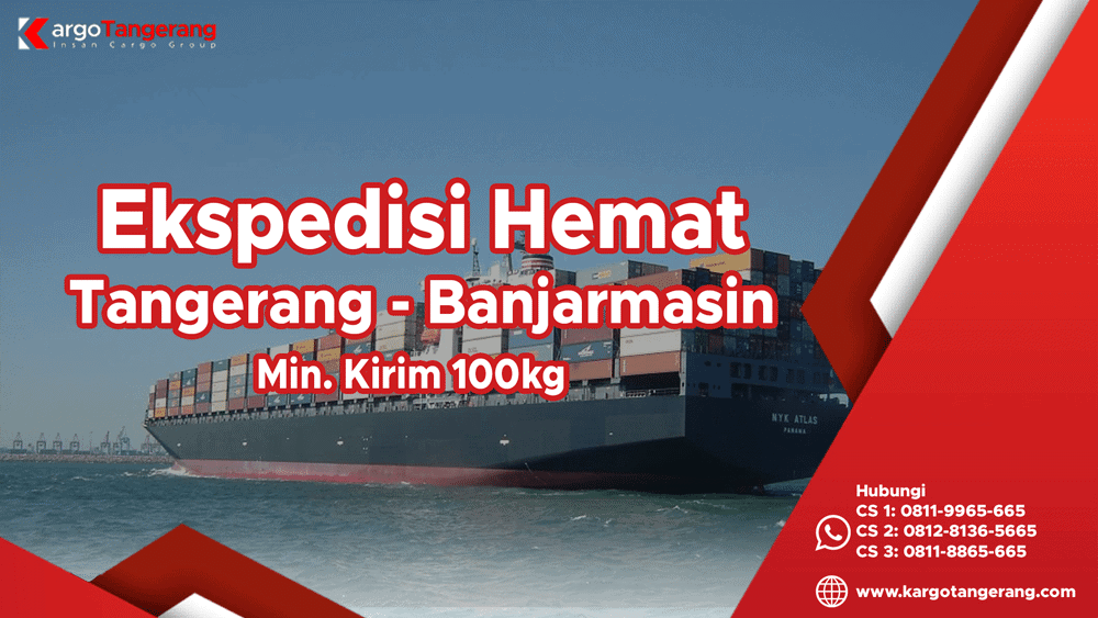 Jasa Ekspedisi Tangerang ke Banjarmasin Hemat