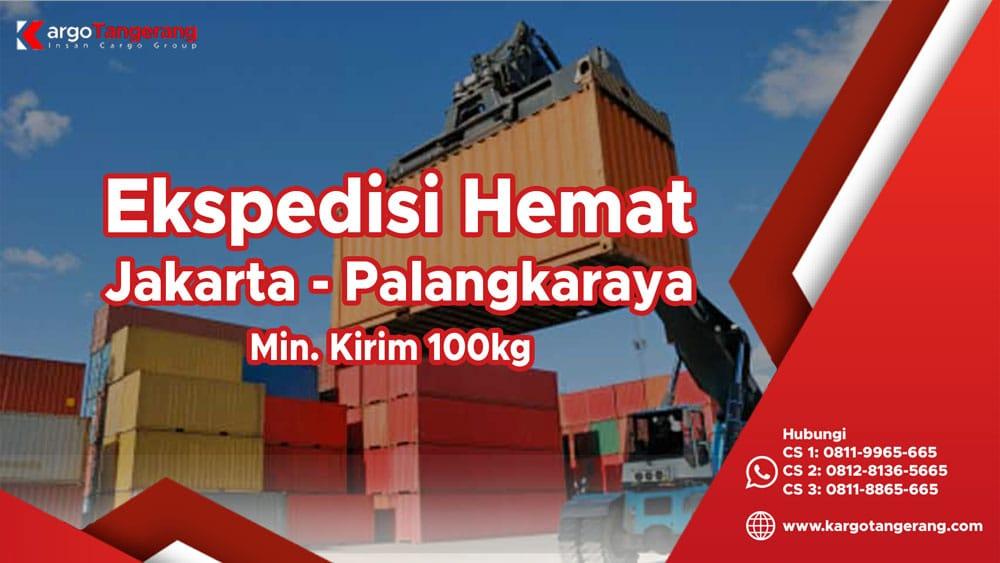 Ekspedisi Jakarta ke Palangkaraya termurah minimal kirim hanya 100kg