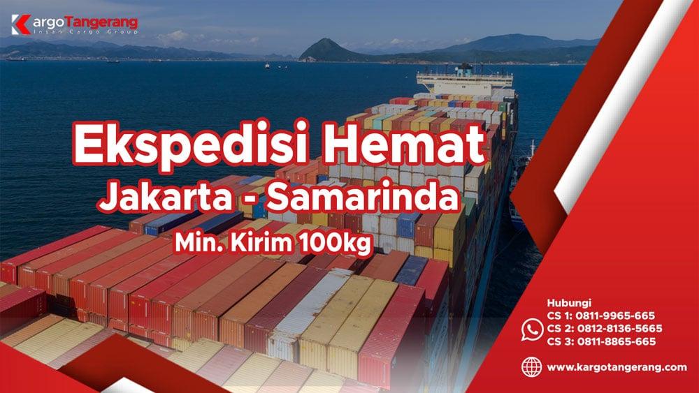 Ekspedisi Jakarta ke Samarinda termurah minimal kirim hanya 100kg